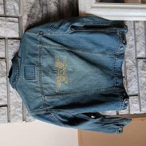 Levis Aerosmith jacket